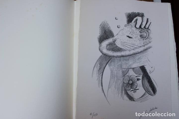 Libros de segunda mano: Alice in Wonderland. Lewis Carrol. R.P.D ADELA. Josep Carner. Marià Manent 1985. Libro artista único - Foto 7 - 104663355