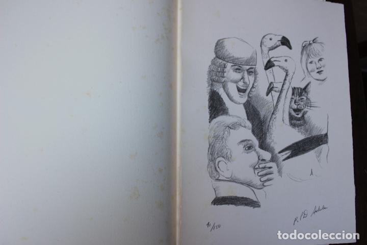 Libros de segunda mano: Alice in Wonderland. Lewis Carrol. R.P.D ADELA. Josep Carner. Marià Manent 1985. Libro artista único - Foto 8 - 104663355