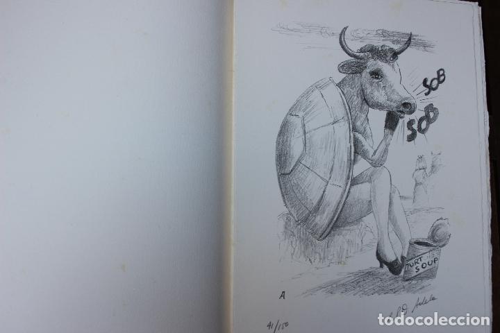 Libros de segunda mano: Alice in Wonderland. Lewis Carrol. R.P.D ADELA. Josep Carner. Marià Manent 1985. Libro artista único - Foto 9 - 104663355