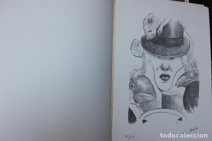 Libros de segunda mano: Alice in Wonderland. Lewis Carrol. R.P.D ADELA. Josep Carner. Marià Manent 1985. Libro artista único - Foto 10 - 104663355