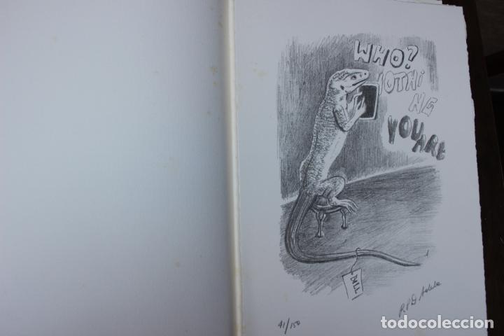 Libros de segunda mano: Alice in Wonderland. Lewis Carrol. R.P.D ADELA. Josep Carner. Marià Manent 1985. Libro artista único - Foto 11 - 104663355
