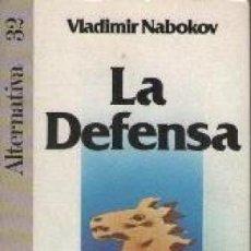 Libros de segunda mano: LA DEFENSA. VLADIMIR NABOKOV. Lote 104807243