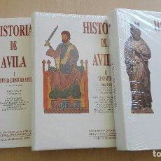 Libros de segunda mano: HISTORIA DE ÁVILA. 3 VOLS.. Lote 105070003