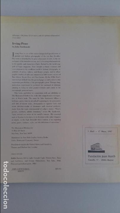 Libros de segunda mano: THE MUSEUM OF MODERN ART, NEW YORK. IRBING PENN. SZARKOWSKI - Foto 4 - 104887199