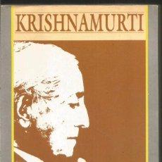 Libros de segunda mano: KRISHNAMURTI. SOBRE LA VERDAD. EDAF. Lote 104912911
