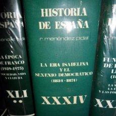 Libros de segunda mano: LA ERA ISABELINA Y EL SEXENIO DEMOCRÁTICO (1834.1874), XXXIV, MENÉNDEZ PIDAL. Lote 104977351