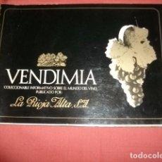 Libros de segunda mano: VENDIMIA INFORMATIVO SOBRE EL MUNDO DEL VINO - RIOJA ALTA S.A. Lote 104989695