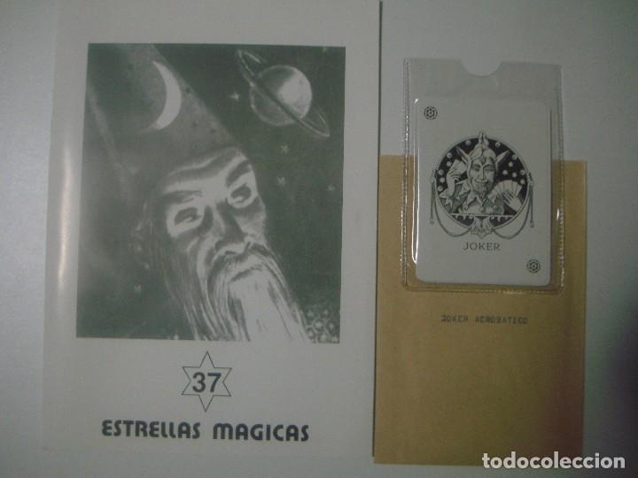 LIBRERIA GHOTICA. ESTRELLAS MAGICAS. 37. ABRIL 1993. INCLUYE JUEGO. ILUSTRADO. MAGIA (Libros de Segunda Mano - Parapsicología y Esoterismo - Otros)