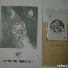 Libros de segunda mano: LIBRERIA GHOTICA. ESTRELLAS MAGICAS. 37. ABRIL 1993. INCLUYE JUEGO. ILUSTRADO. MAGIA. Lote 105022743
