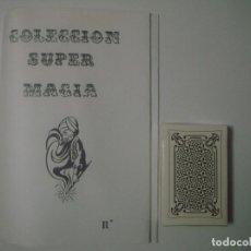 Libros de segunda mano: LIBRERIA GHOTICA. COLECCION SUPER MAGIA. 1980. ALEIX BADET. MASTERMIND. INCLUYE BARAJA. FOLIO MENOR.. Lote 105023235