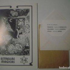 Libros de segunda mano: LIBRERIA GHOTICA. ESTRELLAS MAGICAS. 14. JUNIO 1989. MAGICA DETECCION. INCLUYE JUEGO.ILUSTRADO.MAGIA. Lote 105023563