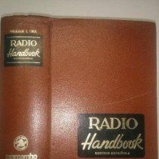 Libros de segunda mano: RADIO HANDBOOK MANUAL DE RADIO 1977 WILLIAM I. ORR W6SAI 20ª EDICIÓN MARCOMBO. Lote 105041447