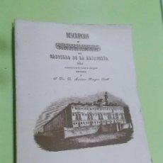 Libros de segunda mano: DESCRIPCION DEL CASTILLO DE LA ALJAFERIA 1 EDICION FASCIMIL DEL ORIGINAL EDITADO EN 1846. Lote 105046071