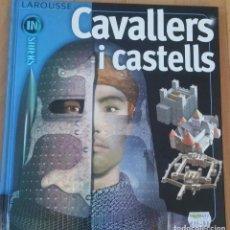Libros de segunda mano: CAVALLERS I CASTELLS (LIBRO EN CATALAN DESCATALOGADO). Lote 105073899