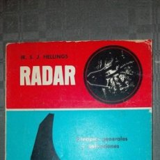 Libros de segunda mano: IR. S .J. HELLINGS RADAR. Lote 105130567