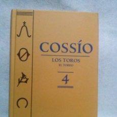 Libros de segunda mano: LOS TOROS DE COSSIO. EL TOREO TOMO 4 (ESPASA). Lote 105206431