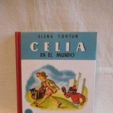 Libros de segunda mano: M69 LIBRO REEDICION CELIA EN EL MUNDO. ELENA FORTUN. ED. SANTILLANA, AGUILAR. 2004. Lote 105243095