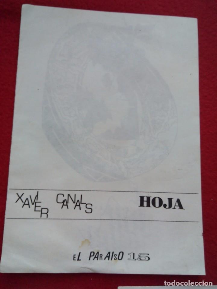Libros de segunda mano: 3 DIPTICOS DE POESIA EXPERIMENTAL EL PARAISO 14 15 Y 16 JOSE LUIS CAMPAL 21 CMS 150 GRS - Foto 3 - 105251227