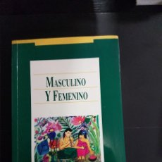 Libros de segunda mano: MASCULINO Y FEMENINO,MARGARET MEAD. Lote 289917828