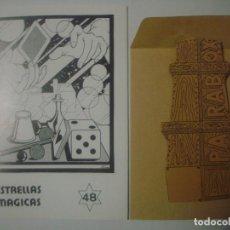 Libros de segunda mano: LIBRERIA GHOTICA. ESTRELLAS MAGICAS. 48. FEBRERO 1995. INCLUYE JUEGO. MUY ILUSTRADO. MAGIA.. Lote 105287203