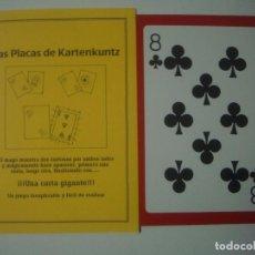 Libros de segunda mano: LIBRERIA GHOTICA. LAS PLACAS DE KARTENKUNTZ. 1990. INCLUYE JUEGO. MAGIA.. Lote 105288863