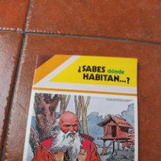 Libros de segunda mano: SABES DONDE HABITAN; Nº 4. Lote 105350959