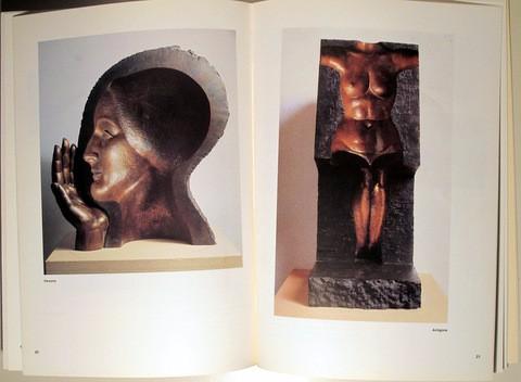 Libros de segunda mano: SUBIRACHS, Josep M. - SUBIRACHS. Esculturas, dibujos y obra gráfica - Zaragoza 1987 - Muy ilustrado - Foto 3 - 105259632