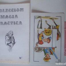 Libros de segunda mano: LIBRERIA GHOTICA. COLECCION SUPER MAGIA. 1980. EL AGUJERO DIABOLICO. ALEIX BADET. INCLUYE JUEGO.. Lote 105656003