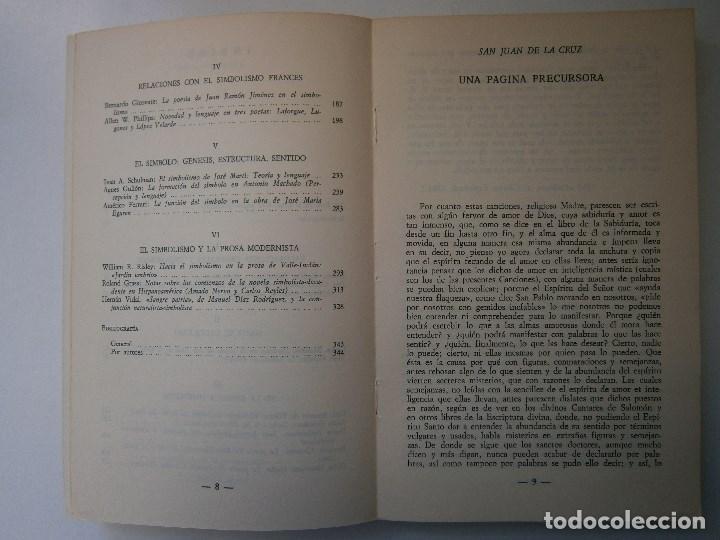 Libros de segunda mano: EL SIMBOLISMO EDICION OLIVIO JIMENEZ EL ESCRITOR Y LA CRITICA TAURUS 1979 - Foto 10 - 105742583