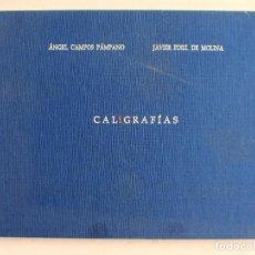 Libros de segunda mano: CALIGRAFÍAS ÁNGEL CAMPOS PÁMPANO - JAVIER FERNÁNDEZ DE MOLINA UT PICTUTA POESIS. Lote 105808227