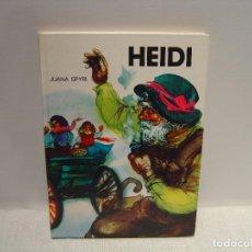 Libros de segunda mano: HEIDI - JUANA SPYRI - ILUSTRACIONES FERNANDO SAEZ - COLECCION SAETA - SUSAETA 1974. Lote 105843091