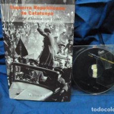 Libros de segunda mano: ESQUERRA REPUBLICANA DE CATALUNYA 70 ANYS D,HITORIA CON DVD. Lote 105862699