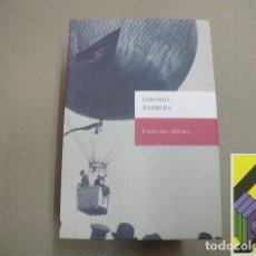 Libros de segunda mano: BARRERA, LIBORIO: COMO AIRE AFRICANO . DIARIOS 2004-2010.. Lote 105880587