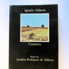 Libros de segunda mano: CUENTOS. IGNACIO ALDEKOA. EDICIONES CÁTEDRA 1985. ILUSTRADO. Lote 105900263