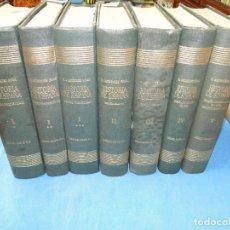 Libros de segunda mano: RAMON MENENDEZ PIDAL. HISTORIA DE ESPAÑA ( 7.VOL. VER DESCRIPCIÓN). Lote 105927315