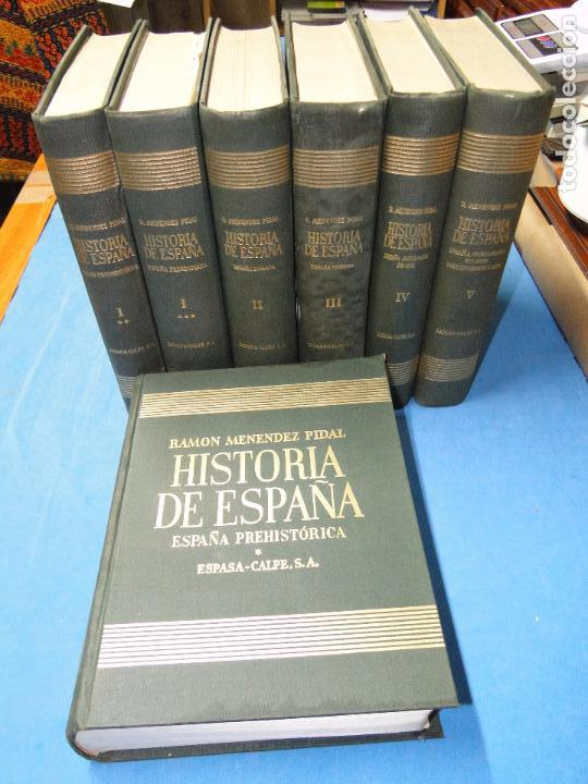 Libros de segunda mano: RAMON MENENDEZ PIDAL. HISTORIA DE ESPAÑA ( 7.VOL. VER DESCRIPCIÓN) - Foto 2 - 105927315