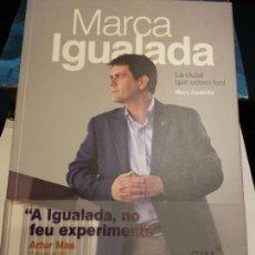 Libros de segunda mano: BJS. MARC CASTELLS. MARCA IGUALADA. . PRCIOS SIN COMPETENCIA. Lote 105929011