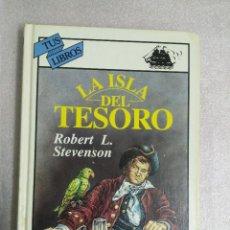 Libros de segunda mano: LA ISLA DEL TESORO / ROBERT L. STEVENSON / TUS LIBROS ANAYA. Lote 105951923