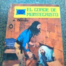 Libros de segunda mano: EL CONDE DE MONTECRISTO -- A. DUMAS - COLECCION NOVELAS FAMOSAS Nº 10 -- TORAY 1977 --. Lote 105978775