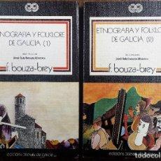 Libros de segunda mano: ETNOGRAFÍA Y FOLKLORE DE GALICIA (2 TOMOS). F. BOUZA-BREY. Lote 105993107