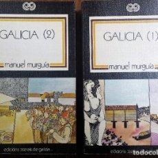 Libros de segunda mano: MANUEL MURGIA. GALICIA (2 TOMOS). Lote 105995327