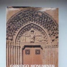 Libros de segunda mano: CATÁLOGO MONUMENTAL DE NAVARRA III. MERINDAD DE OLITE. Lote 106040247