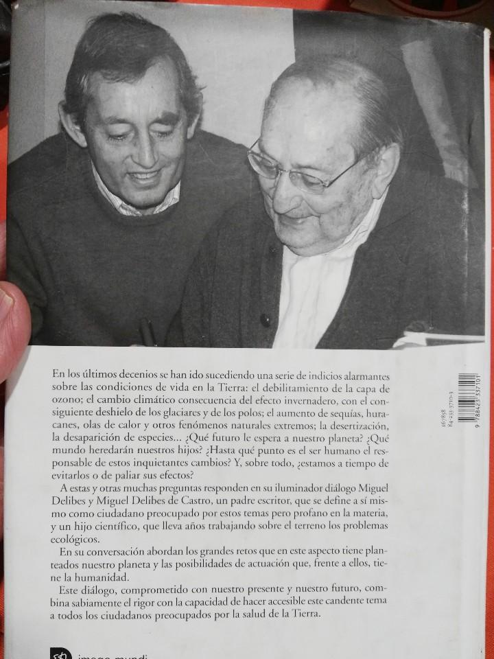 Libros de segunda mano: Libro miguel delibes la tierra herida. @@@ - Foto 5 - 106066959