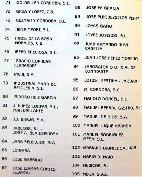 Libros de segunda mano: JOYA CORDOBESA - CATÁLOGO XIII EDICIÓN JOYACOR - 1996 - VER FOTOS - Foto 3 - 106081503