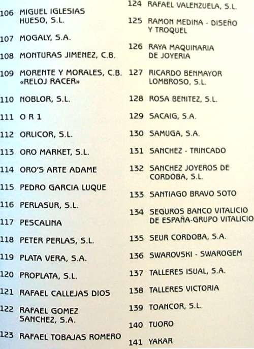 Libros de segunda mano: JOYA CORDOBESA - CATÁLOGO XIII EDICIÓN JOYACOR - 1996 - VER FOTOS - Foto 4 - 106081503