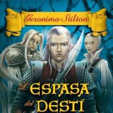 Libros de segunda mano: L'ESPASA DEL DESTÍ (CATALÁN).. Lote 106131770