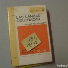 Libros de segunda mano: LAS LANZAS COLORADASARTURO USLAR PIETRI2,00. Lote 106475391