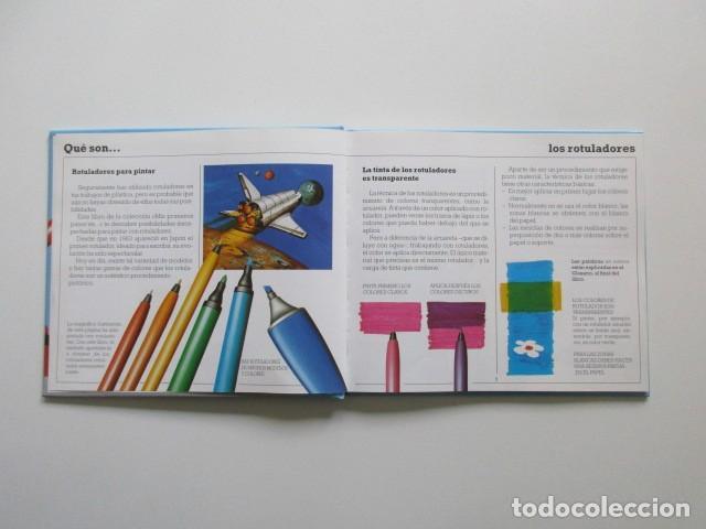 Libros de segunda mano: MIS PRIMEROS PASOS EN ROTULADORES, PARRAMÓN, MUY DIFÍCIL DE ENCONTRAR, 1992 - Foto 3 - 106539111