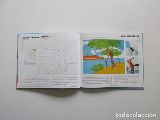 Libros de segunda mano: MIS PRIMEROS PASOS EN ROTULADORES, PARRAMÓN, MUY DIFÍCIL DE ENCONTRAR, 1992 - Foto 6 - 106539111