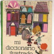 Libros de segunda mano: MI DICCIONARIO ILUSTRADO. COLECCIÓN CAMPANILLA. JUVENTUD 1962. (P/B40). Lote 106577043